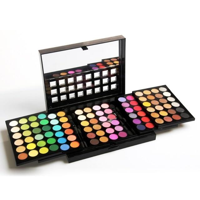 Nova Maquiagem 96 Cores Matte Eyeshadow Palette Pigmento Nu Paletas Da Sombra de Olho Make up Kit Cosméticos Set # E96