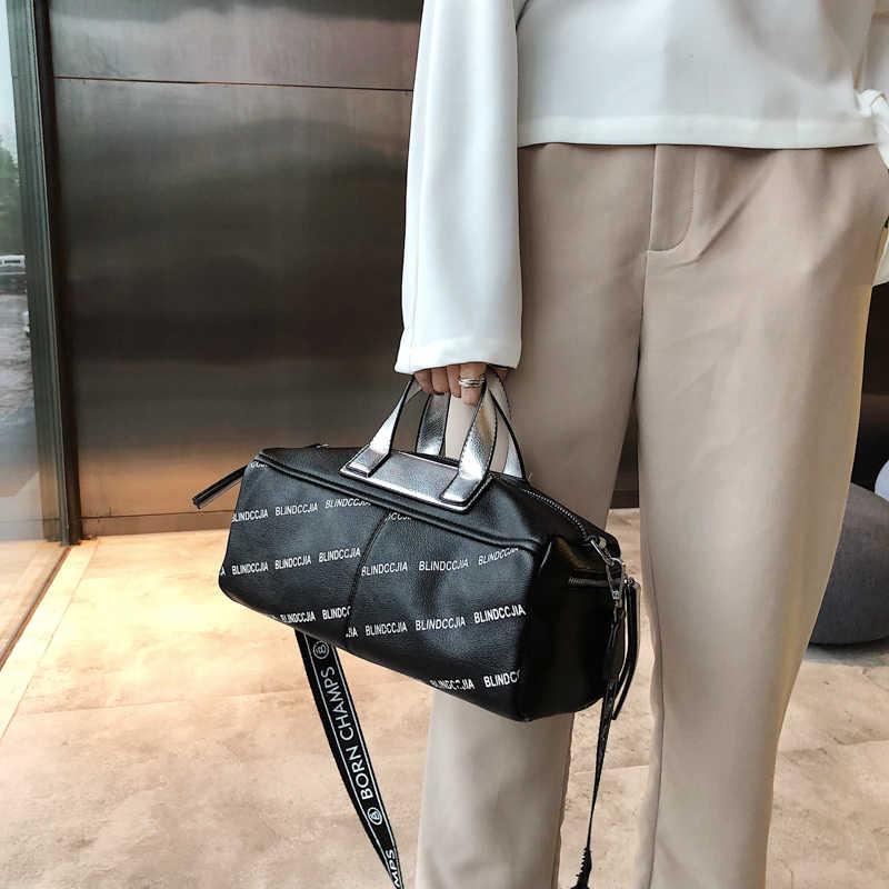New Women small PU Travel Duffle Bag Girl'