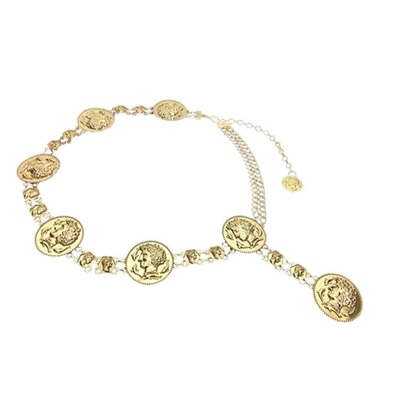 15 UNIDS / LOTE SINGYOU Diseño de La Vendimia Moneda de Oro de Metal - Accesorios para la ropa