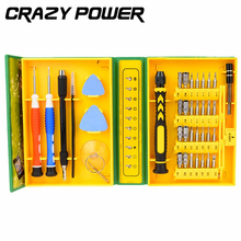 CRAZY POWER 38 in1 Multi-purpose Precision Magnetic Hand Screwdriver Set  Household Hand Tool Set for Phone PC Repair Kit Iphone