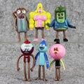 6 unids/set Catoon Regular Show Mini PVC Figura de Colección Modelo de Juguete Juguetes Muñeca Precioso Regalo Para Los Niños