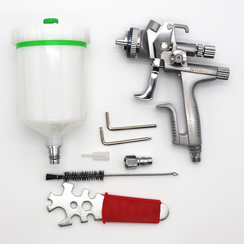 Limited Edition 5000B Wholesale and retail spray gun HVLP Spray Gun 1 3 nozzle for Car