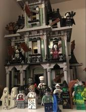 2016 New LEPIN 16007 2141Pcs City Monster Fighter Haunted House Model Building Kit Minifigure Blocks Brick Compatible With 10228