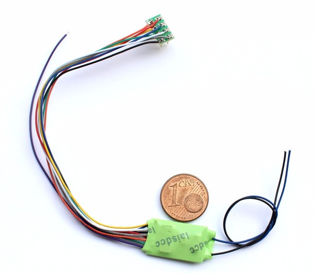 NEM652 DCC LOCO DECODER FOR HO & N SCALE MODEL TRAIN/LaisDcc Brand
