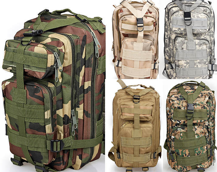 2015 Molle Assault Military Rucksacks Backpack  Bag mochila Large  Backpack  Bag 2015 wat498