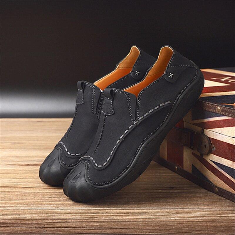 Aa11556 Sapatos Confortáveis Leves Sapatas Deslizamento Em Mocassins escorregar De Mens Anti Verão marrom Casuais Tendência Respirável Masculina cáqui Malha Preto gZw1qaE
