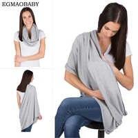 EGMAOBABY bufanda de lactancia para amamantar By have It Maid - 100% algodón, Material suave, ligero y transpirable