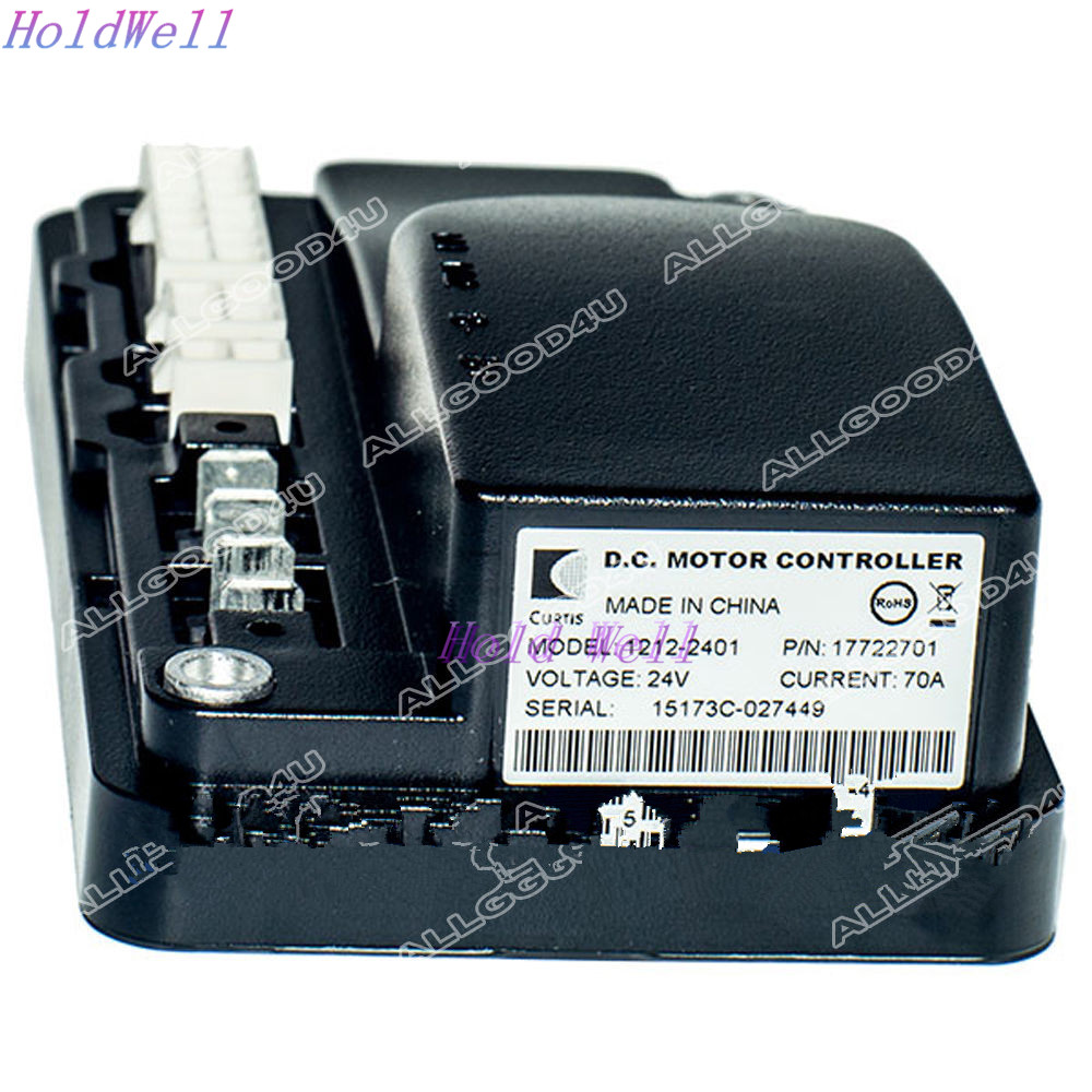 Programmable Permanent Magnet Drive Motor Controller 1212-2401 24V 70A For Curtis