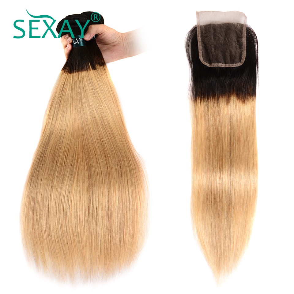 Low Prices Sexay Pre Colored Ombre Brazilian Human Hair 4 Bundles