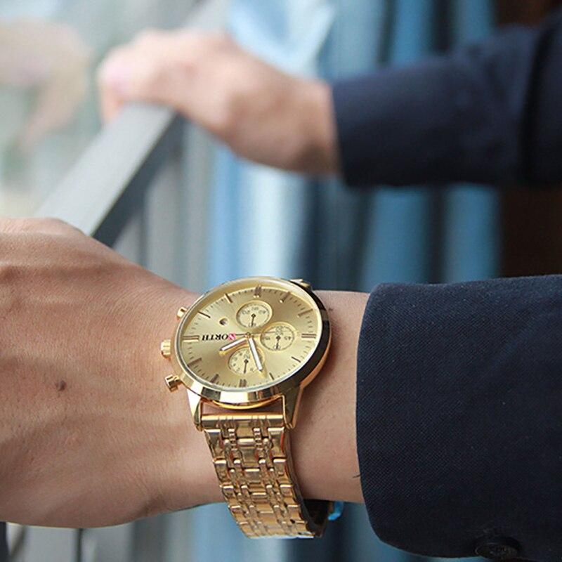 Βόρεια Brand Χρυσό ρολόι ανδρών - Ανδρικά ρολόγια - Φωτογραφία 4