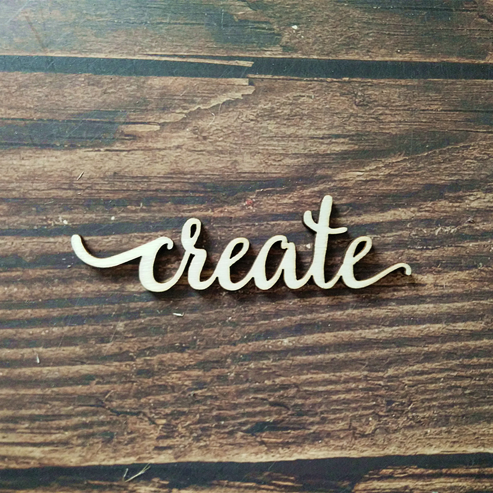 Us 3 99 10pcs Laser Cut Create Letter Script Wood Sign Home Room Decor Wooden Signs Gallery Wall Decors Art Craft In Party Diy Decorations From Home