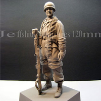 1/16 World War II War Military Soldiers Paratroopers Normandy Soldiers Who Model Resin Figures