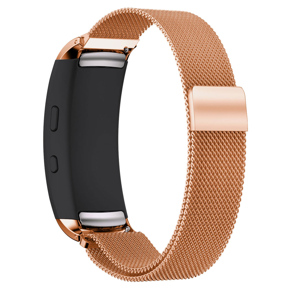 Stainless Steel Milanese Watch Strap Wrist band for Samsung Galaxy Gear fit 2 SM R360 Magnetic Loop Bracelet for Samsung fit2 in Smart Accessories from Consumer Electronics