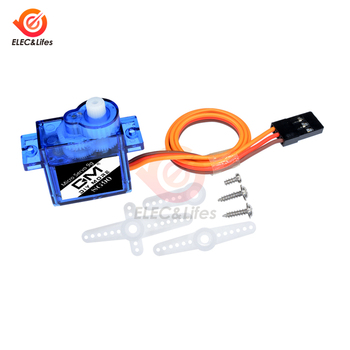 Mini Gear Digital Micro Servo 9g SG90 MG90S High Speed For RC Plane Helicopter Parts Steering gear Airplane Car Toy motors image