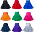 Colorido Sin Aros Enagua Daily maid trajes/cos/lolita Rockabilly Tutu Puffy Corto Enaguas de la Enagua Para Los Vestidos De Boda