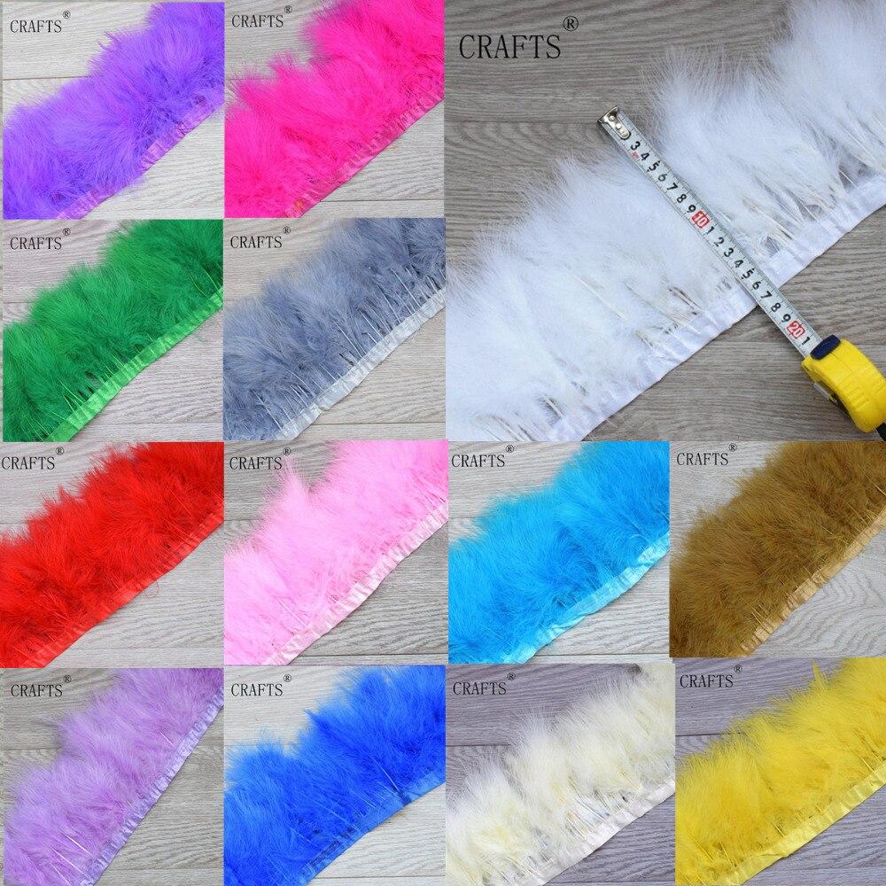 2015 nieuwe witte kalkoenen veren doek riem, doek riem 2 meter, veer - Kunsten, ambachten en naaien