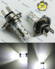 2 шт./лот Бесплатная доставка 60 Вт LED C. r. e. e высокой Мощность прожектор, H4 LED C. r. e. e туман, h4 туман, h4 высокое Мощность LED