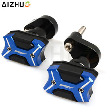 цена на For Yamaha YZF R6 YZF-R6 Motorcycle Frame slider Falling Protection Engine Case Sliders Protector Anti Crash Protection (06-15)