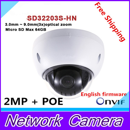 original dahua dh sd32203s hn 2 megapixel full hd network mini ptz dome camera sd32203s hn Original English version Brand-SD32203S-HN 2 Megapixel Full HD Network Mini PTZ Dome Camera SD32203S-HN