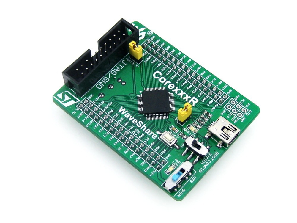 module STM32F103RCT6 STM32F103 STM32 ARM Cortex-M3 Evaluation Development Core Board with Full IO Expanders = Core103R nxp lpc11c14 cortex m0 evaluation development board w 2 8 touch panel module blue