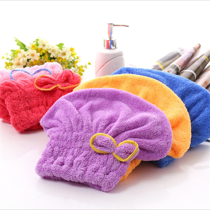 Lady's Magic Hair Drying Towel 1