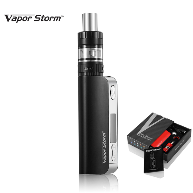 Electronic Cigarette Vape Storm V50 Tc 50w Box Mod Sub Ohm