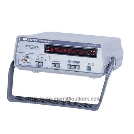Taiwan GFC-8010H 1Hz ~ 120MHz digital frequency Counter  GFC8010H NEW&ORIGINAL tp760 765 hz d7 0 1221a
