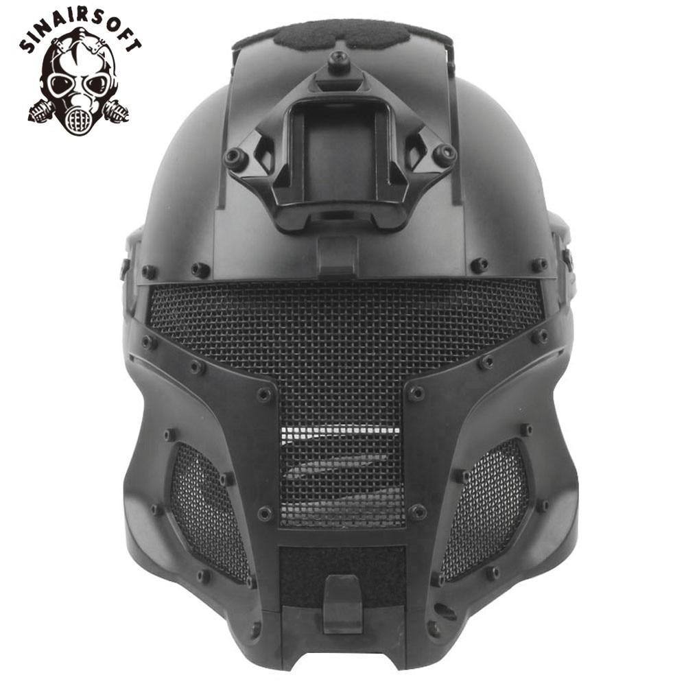 SINAIRSOFT Military Ballistic Helmet Side Rail NVG Shroud Transfer Base Dial Knob Outdoor Sport Army Combat Airsoft Paintball цена