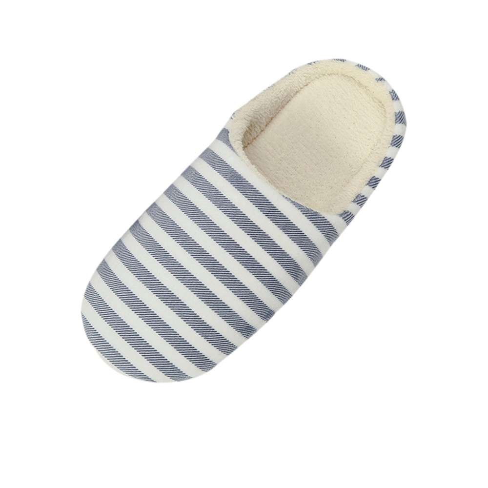 Sleeper #501 2019 NEW Women Men Warm Striped Slipper Indoors Anti-slip Winter House Shoes casual home ladies hot Free Shipping