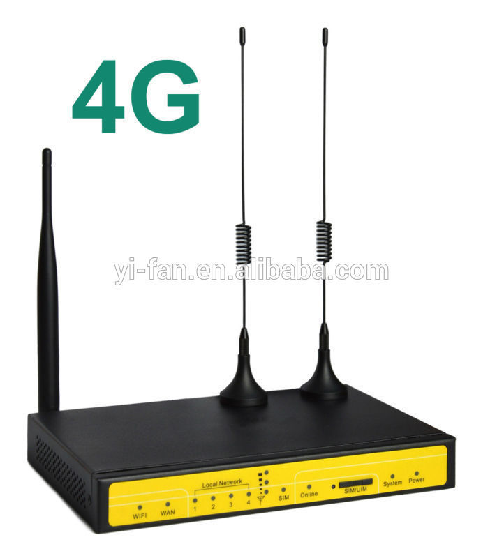 100M industrial 4G VPN router F3836 for ATM  Kiosk Substation Vehicle sdy906 dual sim active active load balancer 4g lte router for atm kiosk substation wireless transmission rate 150mbps 802 11b