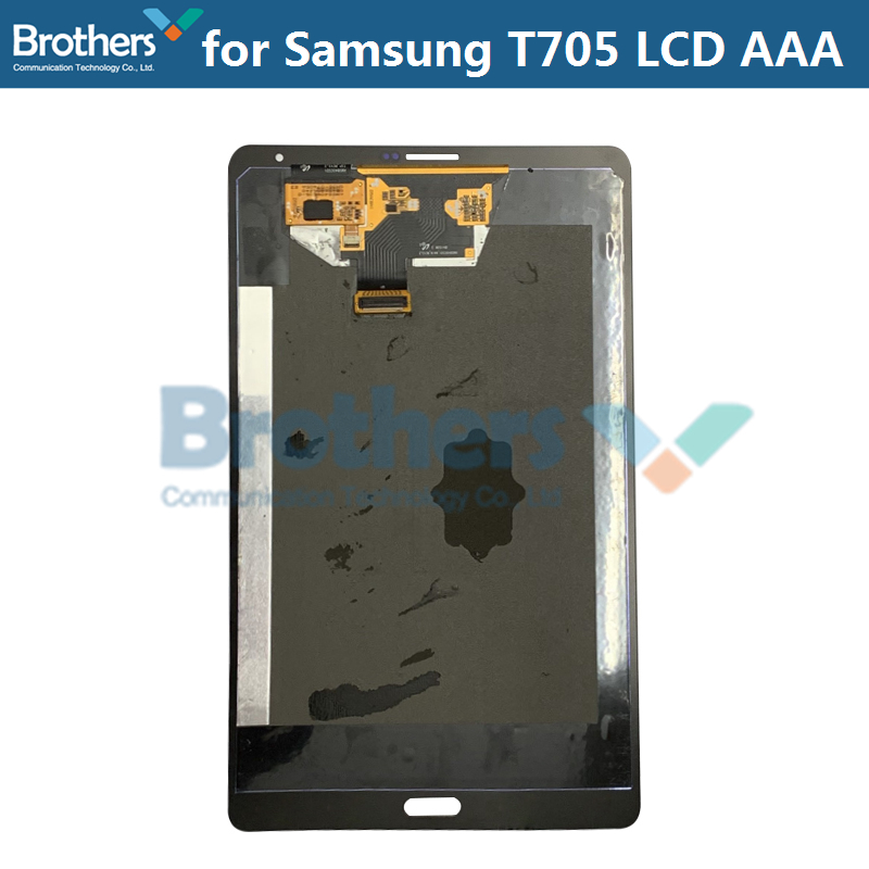 Black For Samsung Galaxy Tab S T700 Tablet Touch screen panel Replace with Logo