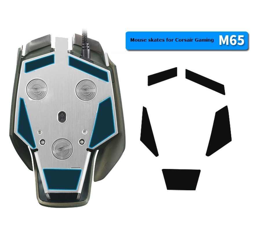 Тефлоновые, для мыши, коньки/ножки для мыши для Corsair Gaming M65 RGB-с бесплатным Спиртовым тампоном для чистки