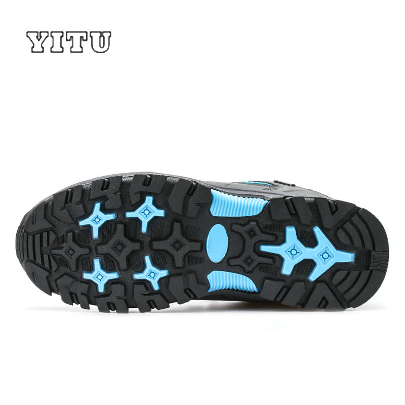 Image 4 - Plus Size 39 45 46 47 Brand Hiking Shoes Men Spring Hiking Boots Mountain Climbing Shoes Outdoor Sport Shoes Trekking Sneakers-in Hiking Shoes from Sports & Entertainment