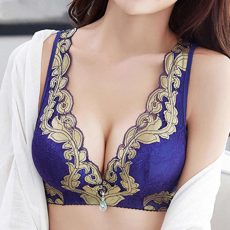 541f2a5501746 Detail Feedback Questions about Plus Size A B C Cup Women Lace Bras Push Up  Wireless Brassiere Bra 7 Colors Bra Ladies Female Lingerie 34 36 38 40 42  44 ...