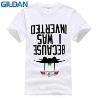 Offensive T Shirts Gildan Fashion 2017 O-Neck Short-Sleeve Mens I Was Inverted Top Gun Tees