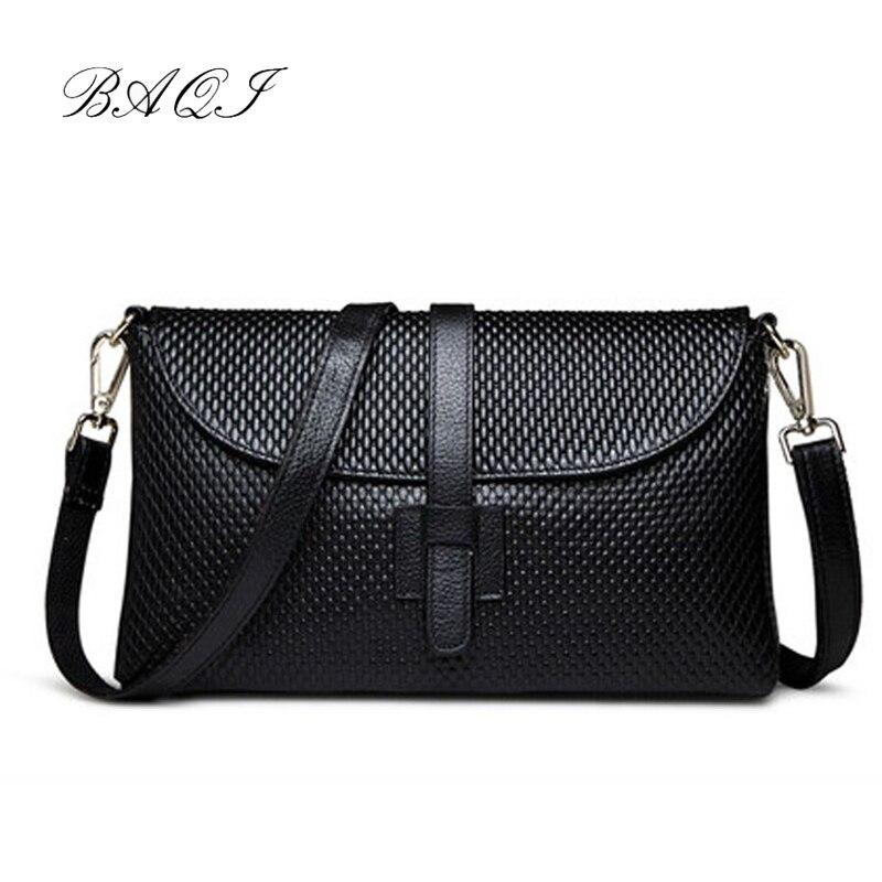 ad3660572a83 Баки бренд Сумки Для женщин сумка из натуральной воловьей кожи 2019 модная  женская вечерняя сумочка Для женщин Crossbody сумка-мессенджер для дев.