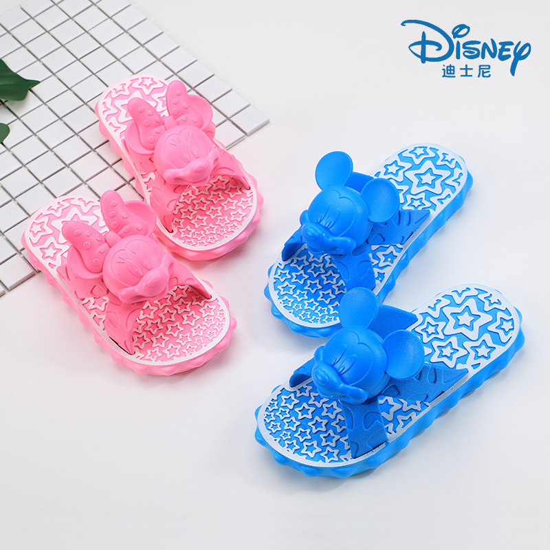 2018 Summer New Kids Shoes Cartoon Cute Comfortable Sandals Indoor Soft Bottom Non-slip Slippers Comfortable Boys Girls Shoes