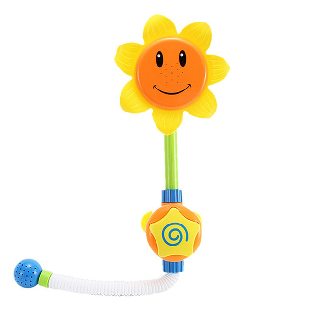 Bath Toy Sunflower Shower Faucet Shower 0-12 Months
