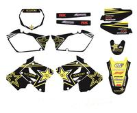 New Style 28MIL TEAM DECALS STICKERS Graphics Kits For Suzuki RM125 RM250 2001 2012 RM 125 250 Motorcycle