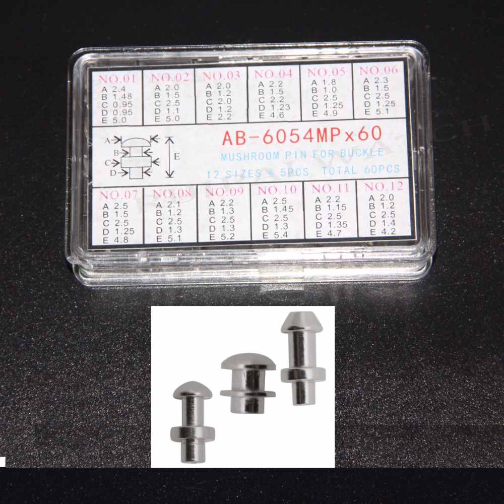 Center Locking Pin Or Mushroom Head For The Bottom Of A Clasp Refills