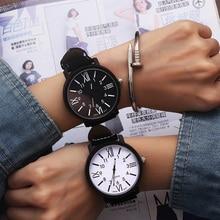 Romantic Big Dial Watch Leather Band Fashion Cute Wristwatch Drop Shipping Quart