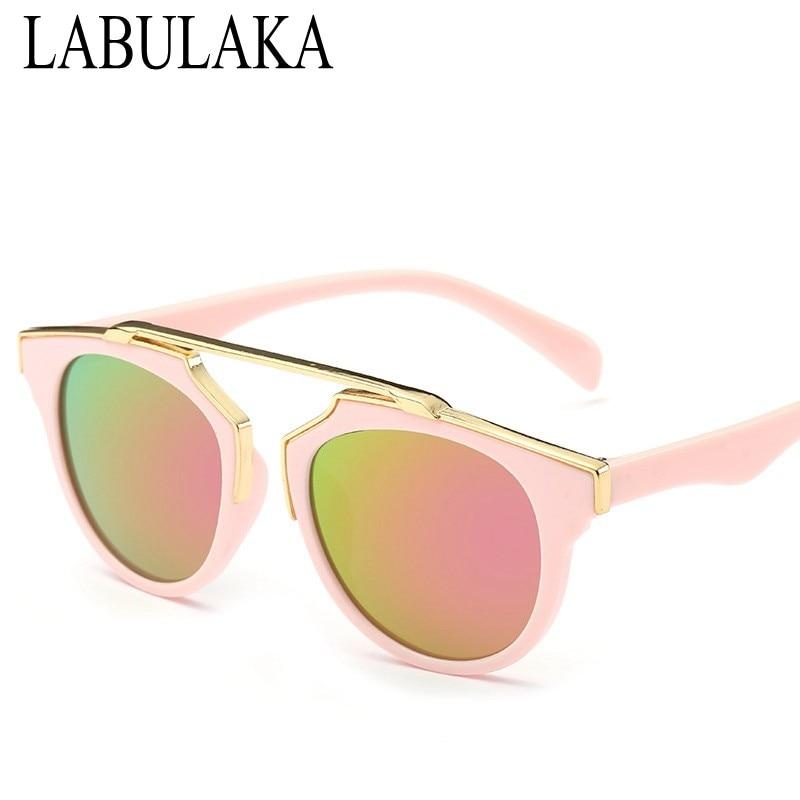 Cute Sun Glasses Children Boy Oversized Vintage Children Sunglasses Classic Steampunk Girls Eyewear Gafas Baby Shades
