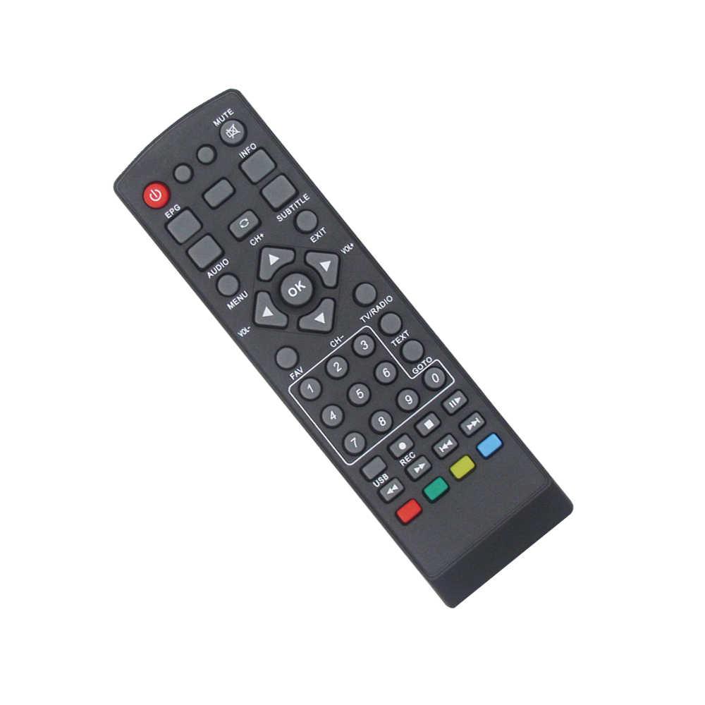 Télécommande IR pour DVB-T2 récepteur TV Satellite K3/M2/K2/8902 télécommande de remplacement