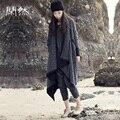 Xianran Пальто Женщин Долго Карман Женщины Трикотаж Вязать Плюс Размер Пальто Высокое Качество Бесплатная Доставка