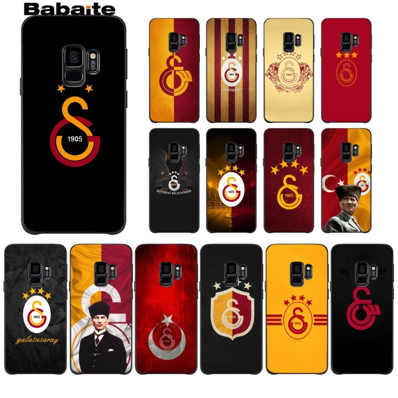 Babaite Turkey Galatasaray Soft Silicone TPU Phone Case Cover Shell For GALAXY S7 Edge