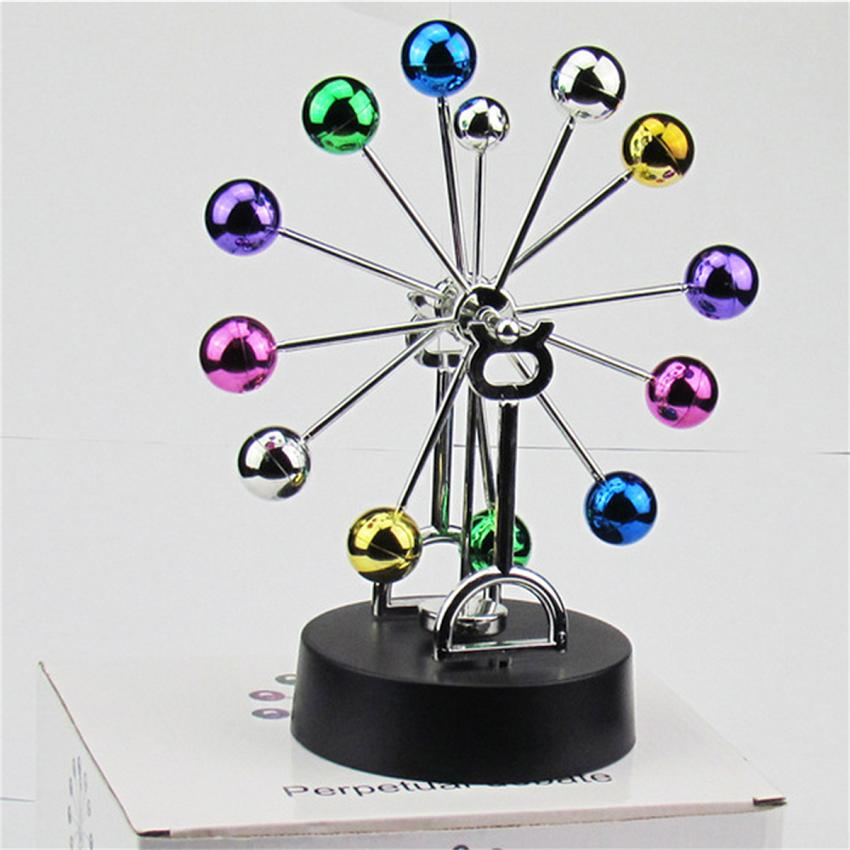 New Ferris Wheel Balance Ball Perpetual Motion Toys Physics Science Pendulum Desk Toy Gift For Friend TY340154