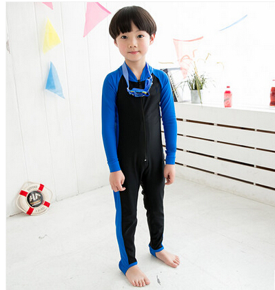 d6b5da2e6f 2014Children's sunscreen long sleeve tight swimwear boys and gril Swimming  Wetsuit clothes sun protection clothing Free shipping-in Kids Costumes ...