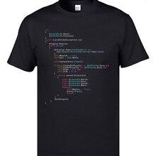 Colored Code Programming JS Men T Shirts