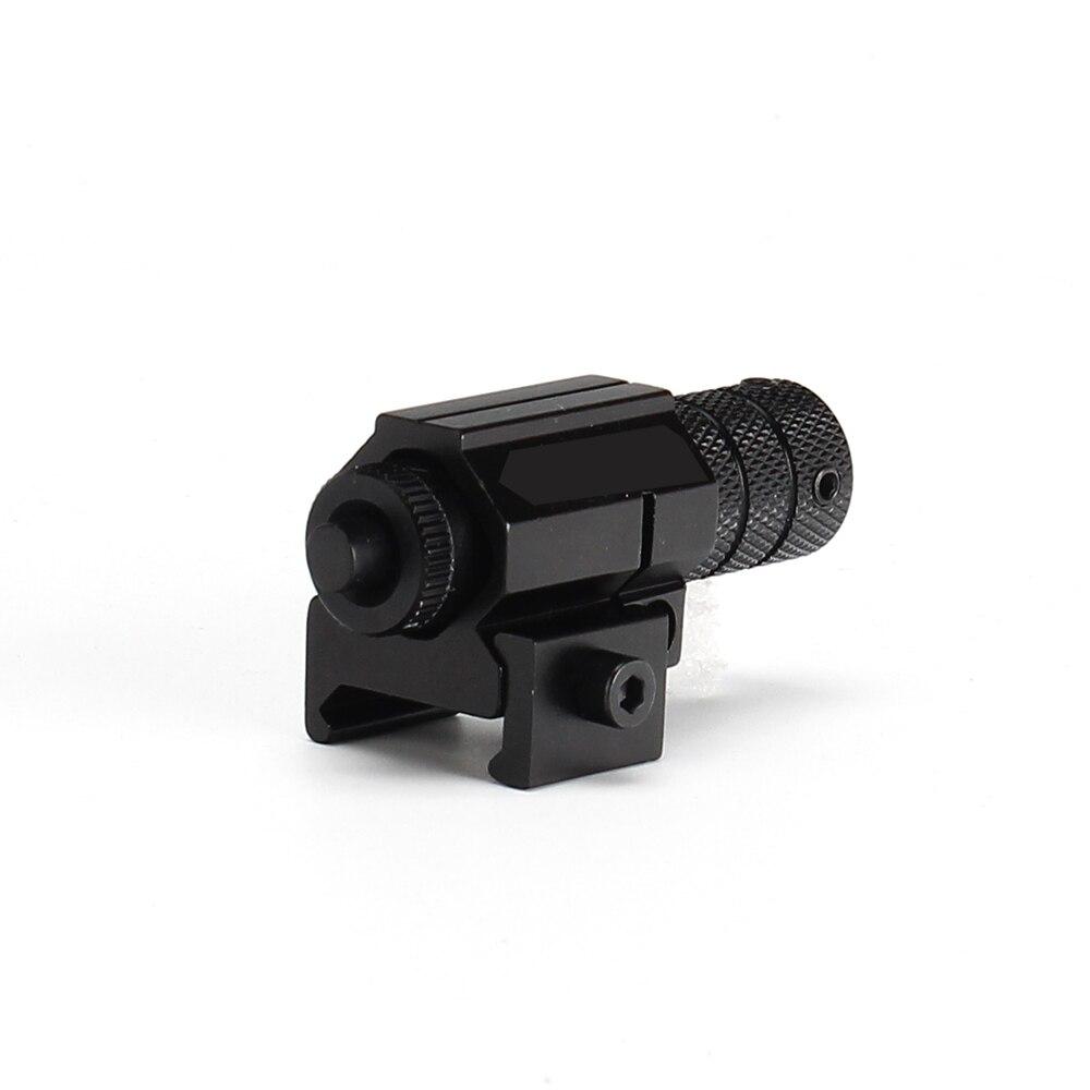 Jagd Pistole Gewehr Red Laser Sight Red Dot Sighter mit Picatinny oder Schwalbenschwanz Schiene Montieren für Schießen Zielfernrohr Umfang