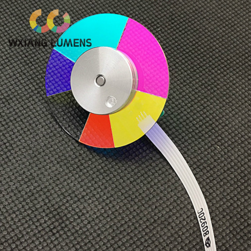 Projector Dichroic Color Wheel Fit for BENQ TP4125D <font><b>TS500</b></font> TS502 TS513P MX662 MX662H MX703 MX722 image